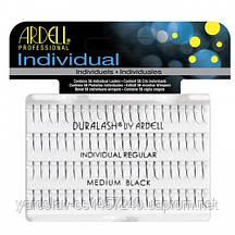 Ресницы пучками безузелковые индивидуальные средние черные  Individual Ardell