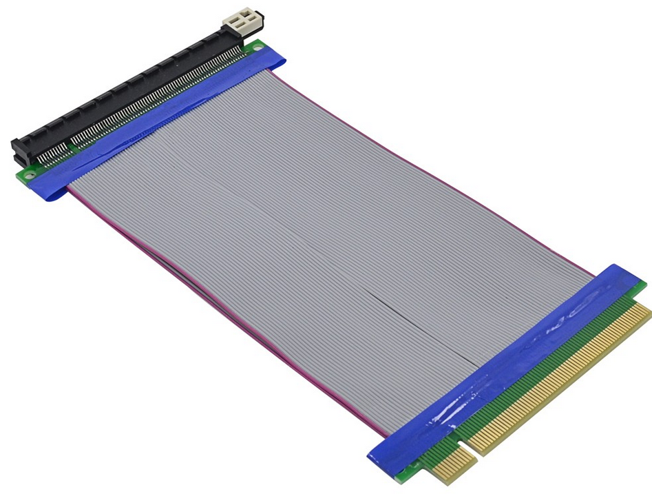 Райзер riser 19cm PCI-E 16X-16X PCI Express #100387