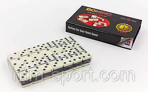 Настільна гра доміно в картонному футлярі (16 * 9,5 * 3,5 см), фото 2