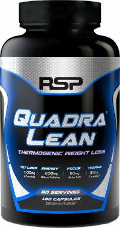 RSP Nutrition Quadralean Thermogenic 180 caps