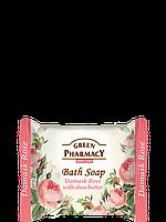 Туалетное мыло Дамасская роза с маслом ши 100г Зеленая Аптека