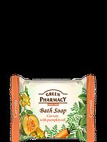 Туалетне мило з маслом Моркву гарбуза 100г Green Pharmacy