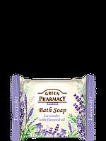 Туалетное мыло Лаванда с маслом льна 100г Зеленая Аптека