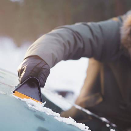 Автомобильный скребок для льда Fiskars Solid (143063 - 1019354), фото 2
