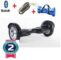 Гироскутер, гироборд на 10 колесах + Bluetooth синий, фото 1