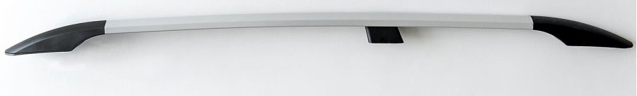 Рейлинги Fiat Doblo 2010- /длинн.база /Серый /Abs