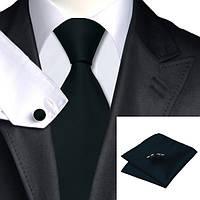 Подарочный мужской набор черный (Jason&Vogue) JASON&VOGUE