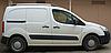 Рейлинги Citroen Berlingo 2008- /коротк.база / пластик , фото 3