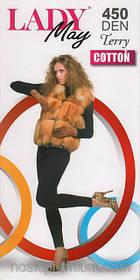 Гамаші жіночі махрові х/б Lady May Terry Cotton 450 Den р 2.3.4