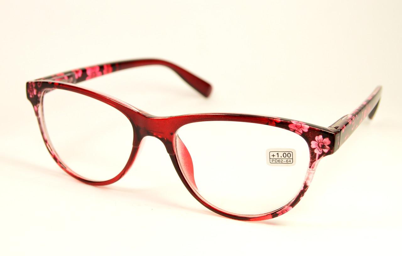 Женские очки цветочки оптом (206 б)