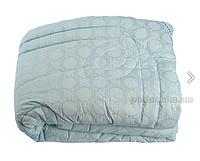 Одеяло Руно Шерсть 200x220 Голубое (322.02ШК+У)