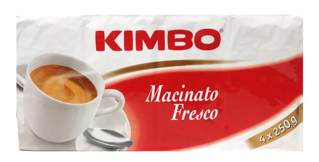 Кофе молотый из Италии Kimbo Macinato Fresco Quatro 1 кг.