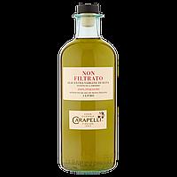 Масло оливковое нефильтрованное Carapelli Non Filtrato 100% Italiano (домашнее) 1 л., фото 1