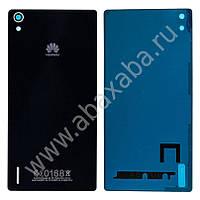 Задняя крышка Huawei P7 Ascend, чёрная