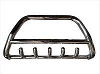 Защита переднего бампера (кенгурятник) Toyota Land Cruiser 100 1998-2007