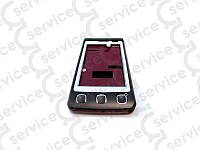 Корпус LG KP500 Cookie, коричнево-красный