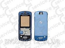 Корпус Motorola L6, синий