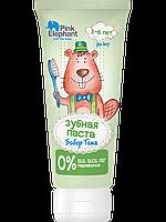 Зубная паста Бобер Тема 50мл Pink Elephant