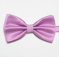 Бабочка мужская светло-фиолетовая стильная