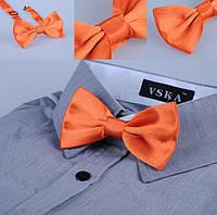 Бабочка мужская оранжевая классика