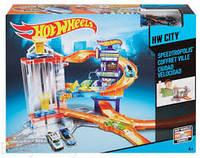 Трек Хот Вилс Город Скорости. Треки Hot Wheels City. Seedtropolis CDL36