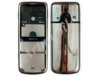 Корпус Nokia 6700 Classic, серебристый, оригинал (Китай) [без клавиатуры]