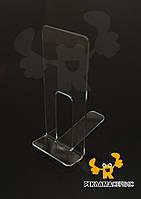 Подставка под телефон из акрила эконом вариант