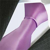 Галстук мужской фиолетовый классический ARTEX