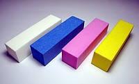 Брусок шлифовальный (белый, синий, розовый, фиолетовый, желтый)