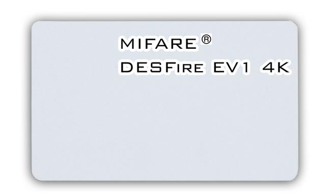 Бесконтактная смарт-карта Mifare DESFire EV1 4K