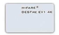 Бесконтактная смарт-карта Mifare DESFire EV1 4K, фото 1