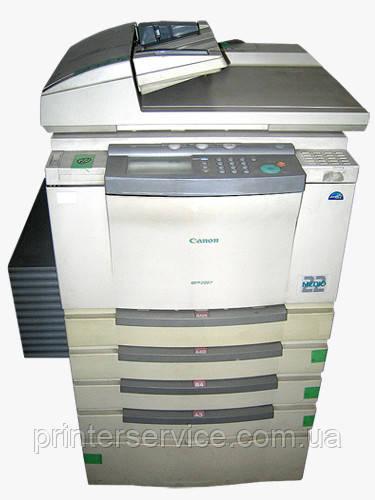Бу МФУ А3 Canon GP225, лазерный принтер/сканер/копир с автоподатчиком и пьедесталом
