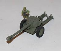 """Модели артиллерийских орудий 1:72. Американская 90-мм противотанковая пушка """"Т8"""". 2-ая мировая война."""