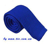 Галстук мужской вязаный синий Bow Tie House™