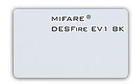 Бесконтактная смарт-карта Mifare DESFire EV1 8K