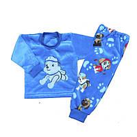 Пижама детская махровая Щенячий Патруль р.р. 74-134 см
