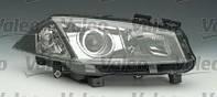 Оптика (ксенон)  VALEO 088338; 7701064023, 7701054660; DEPO 5511160RLEHM6, 5511160HM62 на Renault Megane