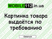Средняя часть Nokia N96, серебристая, полная antenna+buzzer+connector+flash