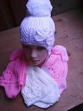 Зимние детские шапки