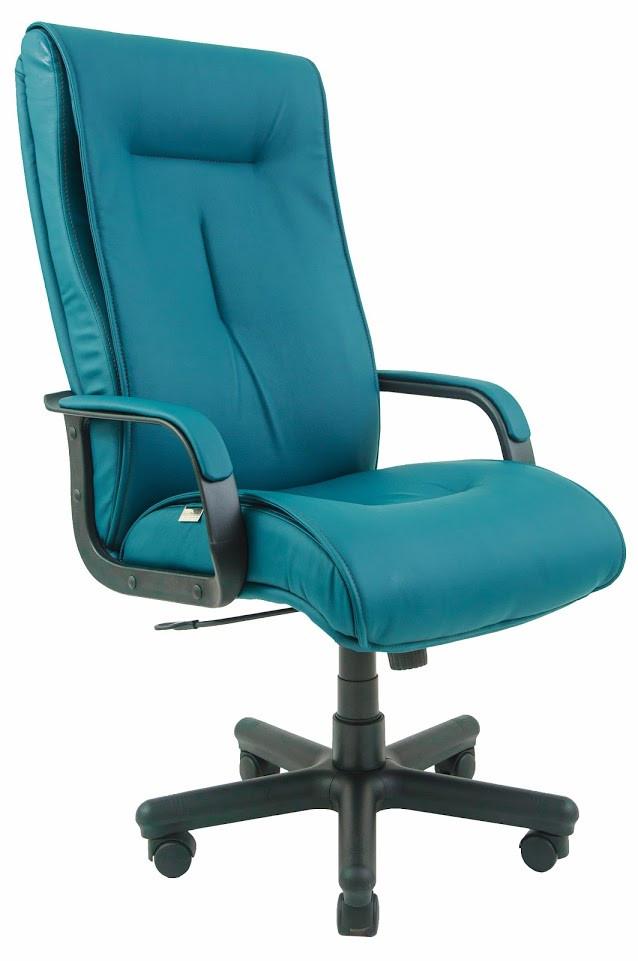 Кресло Бостон Пластик механизм Tilt подлокотники с мягкими накладками, кожзаменитель Флай-2215 (Richman ТМ)