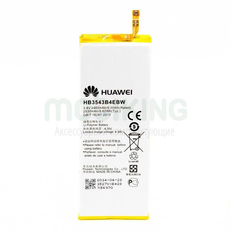 Оригинальная батарея на Huawei P7 для мобильного телефона, аккумулятор для смартфона.