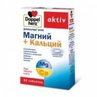 Доппельгерц Актив Магний+Кальций ДЕПО 1593мг №30таб (БАД)