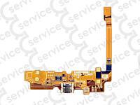 Шлейф для LG D320 Optimus L70/ D321/ D325/ MS323 с разъемом зарядки, с микрофоном