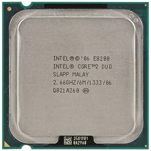 Процессор Intel Core2Duo E8200 2x2.66GHz LGA775