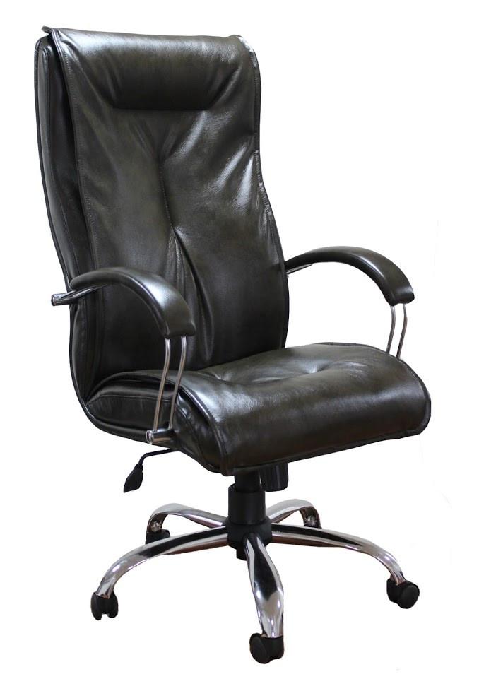 Крісло Бостон Хром Титан чорний (Richman ТМ)