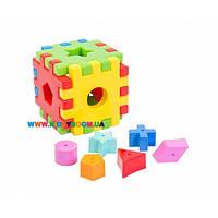 Развивающая игрушка Волшебный куб 12 элементов 39376
