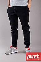 Мужские спортивные штаны утеплённые PUNCH Jog black
