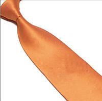 KAILONG Галстук оранжевый классический 01