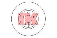 Диск тормозной передний LAND ROVER LR007055, LR000571; 1500158, 1405510, 1469085 на Ford S-Max, Galaxy