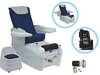 Педикюрное SPA-кресло с гидромассажем +стульчик, Кресло для педикюра, для маникюра, для наращивания ресниц, фото 1